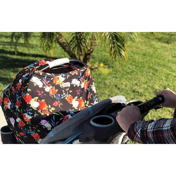 Motmot Soft and Stretchy Nursing and Breastfeeding Privacy Cover Protects your Baby - tropical stroller canopy cover